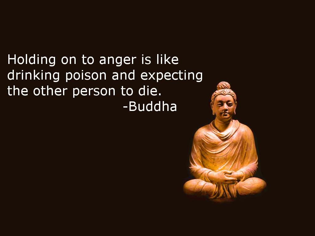 Holding-on-to-anger...-Buddha